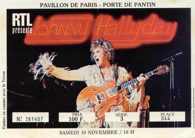 Quelques photos de billets de concert de Johnny Pdp10110