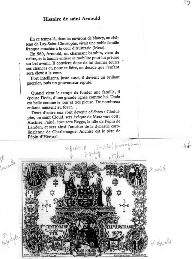 LA VIERGE MARIE A BOUXIERES AUX DAMES AU NORD DE NANCY EN LORRAINE-BERCEAU CAROLINGIENS-CAPETIENS après le FRANKENBOURG Dossie31