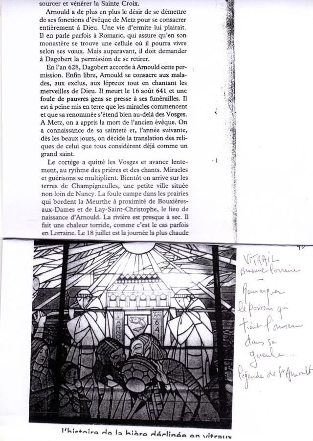 LA VIERGE MARIE A BOUXIERES AUX DAMES AU NORD DE NANCY EN LORRAINE-BERCEAU CAROLINGIENS-CAPETIENS après le FRANKENBOURG Dossie34