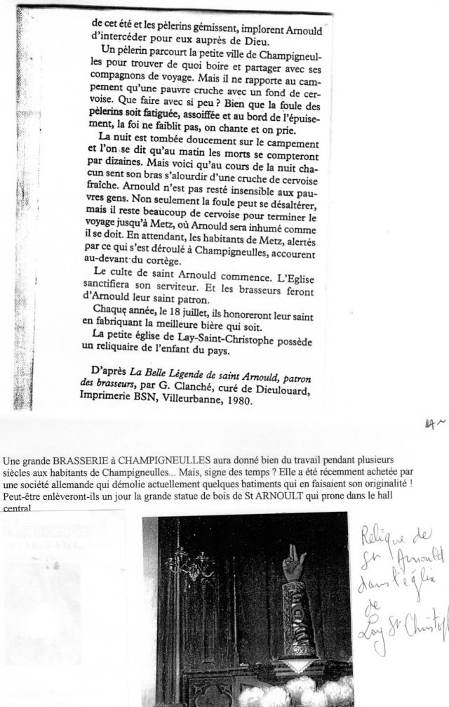 LA VIERGE MARIE A BOUXIERES AUX DAMES AU NORD DE NANCY EN LORRAINE-BERCEAU CAROLINGIENS-CAPETIENS après le FRANKENBOURG Dossie36