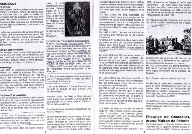 LA VIERGE MARIE A BOUXIERES AUX DAMES AU NORD DE NANCY EN LORRAINE-BERCEAU CAROLINGIENS-CAPETIENS après le FRANKENBOURG Dossie38