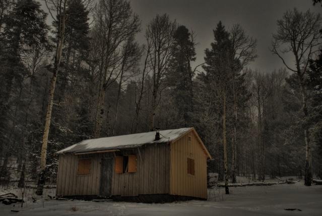 McKnight cabin, Black Range, New Mexico Hdr13s10