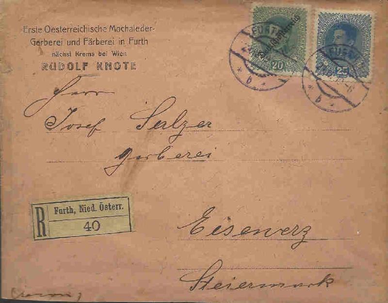 Inflation in Österreich - Belege - 1918 bis 1925 29041910