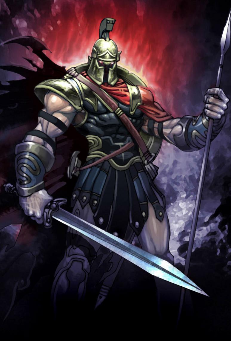 Général Drakenos, sombre champion d'Hadès Ares_b10