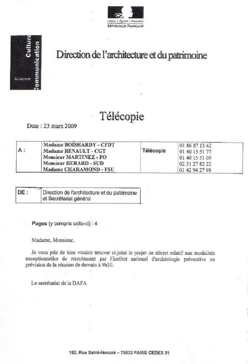 Projet de décret sur le contrat d'opération Projet11