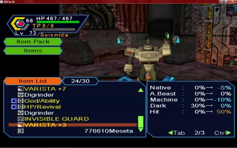 PSO PC/ V1&V2 Screenshot Gallery! - Page 5 Psoscr11