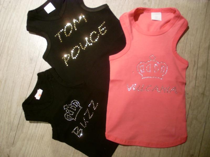 Tee-shirts personnalisés de chez Creativ'Dog Sl373910