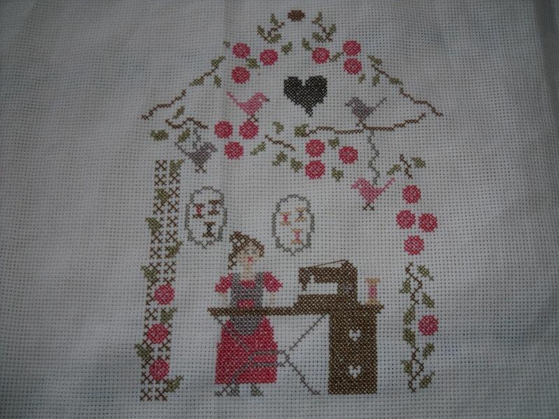 """""""sous les roses"""" de zaza pique  Dscf2335"""