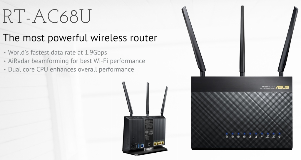 Enfin un Routeur AC\1900Gbps avec USB 3 ! Asusrt10