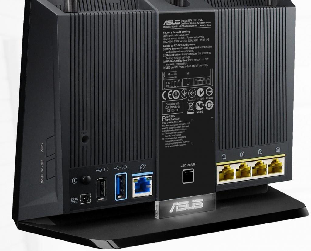 Enfin un Routeur AC\1900Gbps avec USB 3 ! Asusrt11