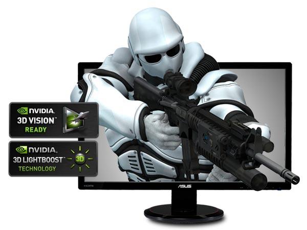 FS/FT- 5* Asus 3D LED 120Hz Monitor VG278H Vg278h10