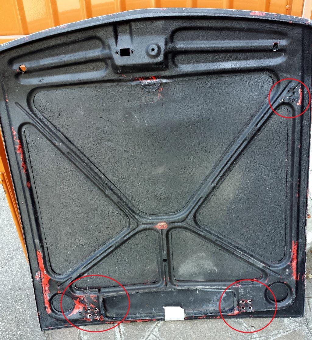 Cofano anteriore in lamiera Intern10