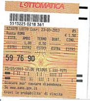 GChiaramida Premium: - TERNOVANTA - AMBO SECCO O IN TERZINA 67-90 SU PALERMO (23/7) 59_76_10