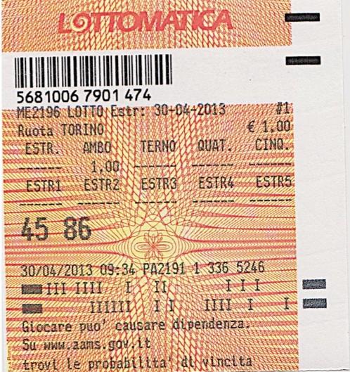 GChiaramida Premium: - TERNOVANTA - AMBO SECCO O IN TERZINA 67-90 SU PALERMO (23/7) A458610