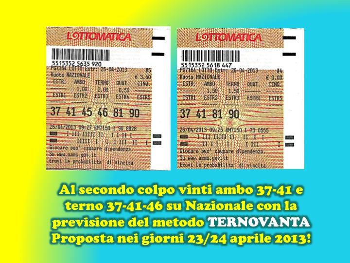 GChiaramida Premium: - TERNOVANTA - AMBO SECCO O IN TERZINA 67-90 SU PALERMO (23/7) Diapos17