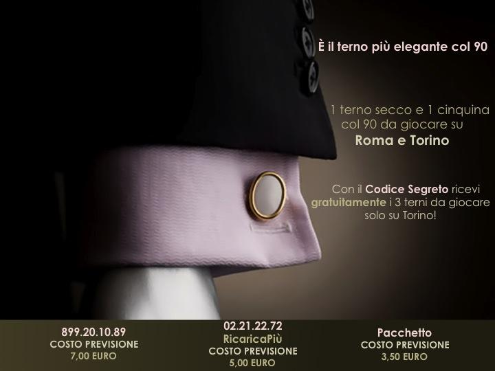 GChiaramida | 8/9 MAGGIO | Il terno più elegante col 90 è la mia nuova grande scommessa! Diapos33
