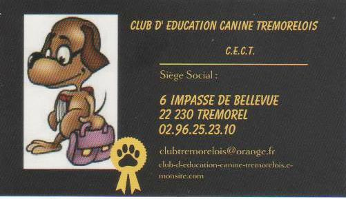CLUB D'EDUCATION CANINE TREMOLEROIS Educat10