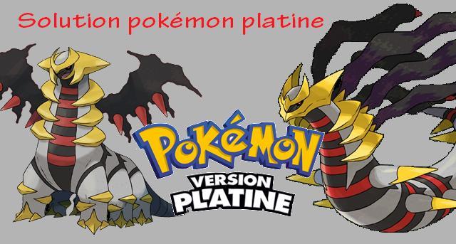 Solution pokemon platine Platin10