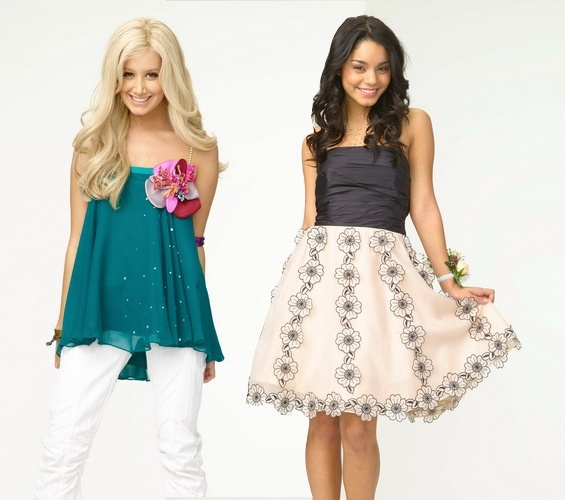 Ashley y Vanessa kao Gabriela y Sharpay Unbdxt10