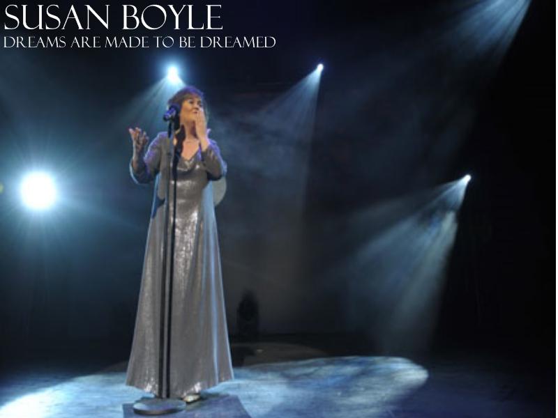Susan Boyle 'Dream's wallpaper Sbpape10