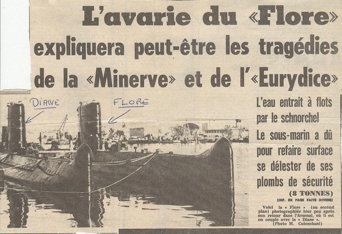 [ Divers - Les classiques ] Accident du Sous-marin FLORE 134