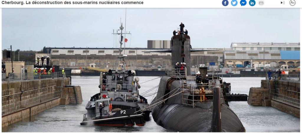 [Autre sujet Marine Nationale] Démantèlement, déconstruction des navires - TOME 2 - Page 37 145