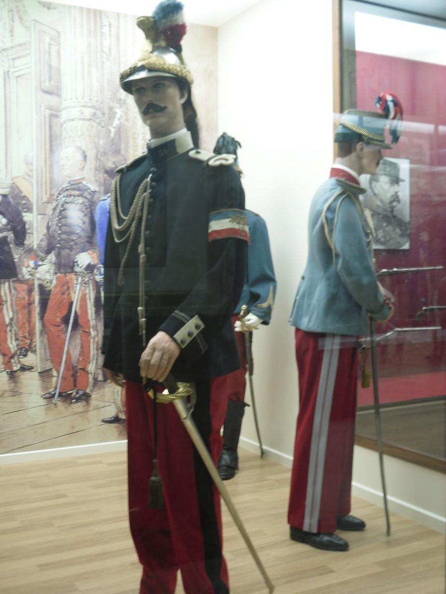 [ Histoires et histoire ] Musée de la cavalerie à Saumur 1710