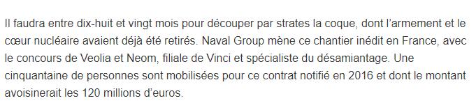 [Autre sujet Marine Nationale] Démantèlement, déconstruction des navires - TOME 2 - Page 37 411