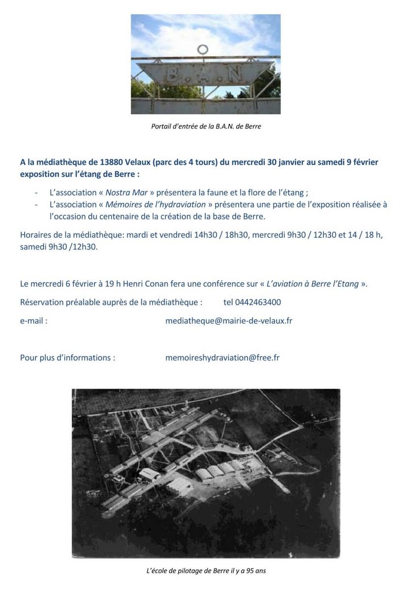 [ Aéronavale divers ] Exposition conférence sur la BAN de Berre Flyer_10