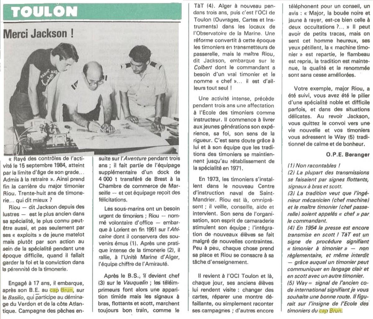 [Les écoles de spécialités] ÉCOLE DES TIMONIERS - TOME 2 - Page 14 Jackso10