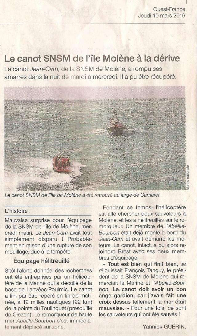 [ La S.N.S.M. ] SNSM Île Molène Momo139