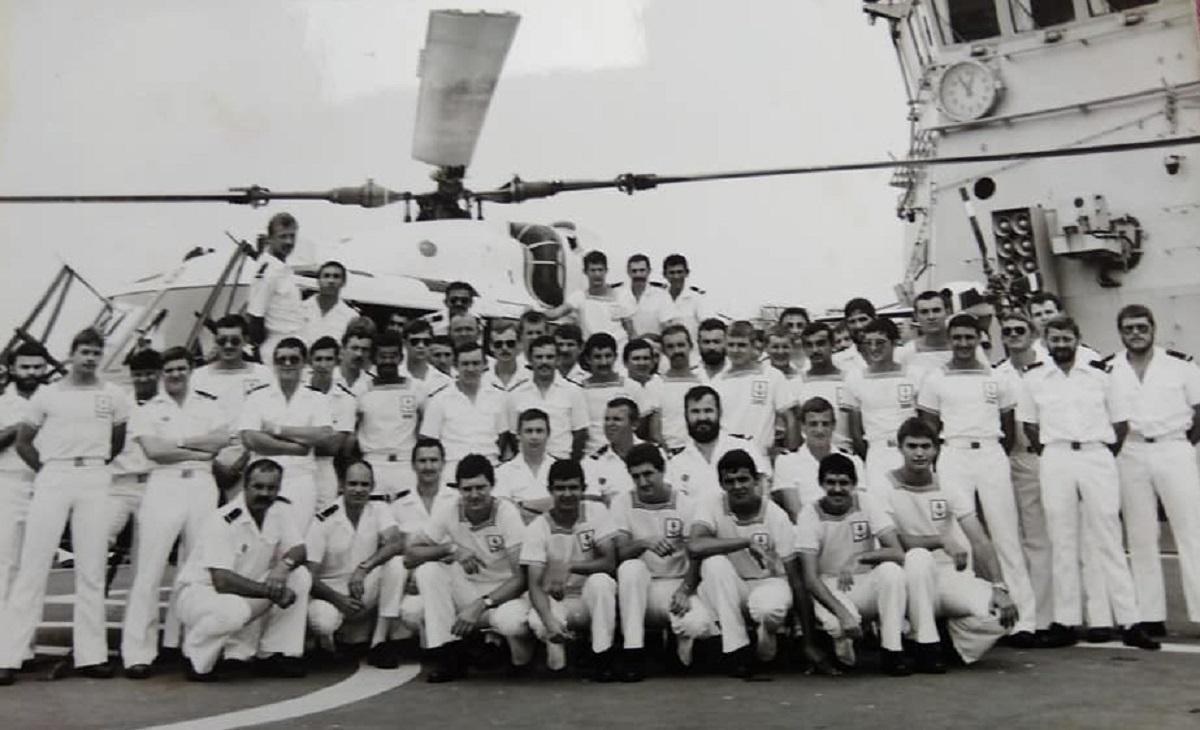 [ Recherches de camarades ] Jeanne d'Arc campagne 79/80 flottille 35F Momo203