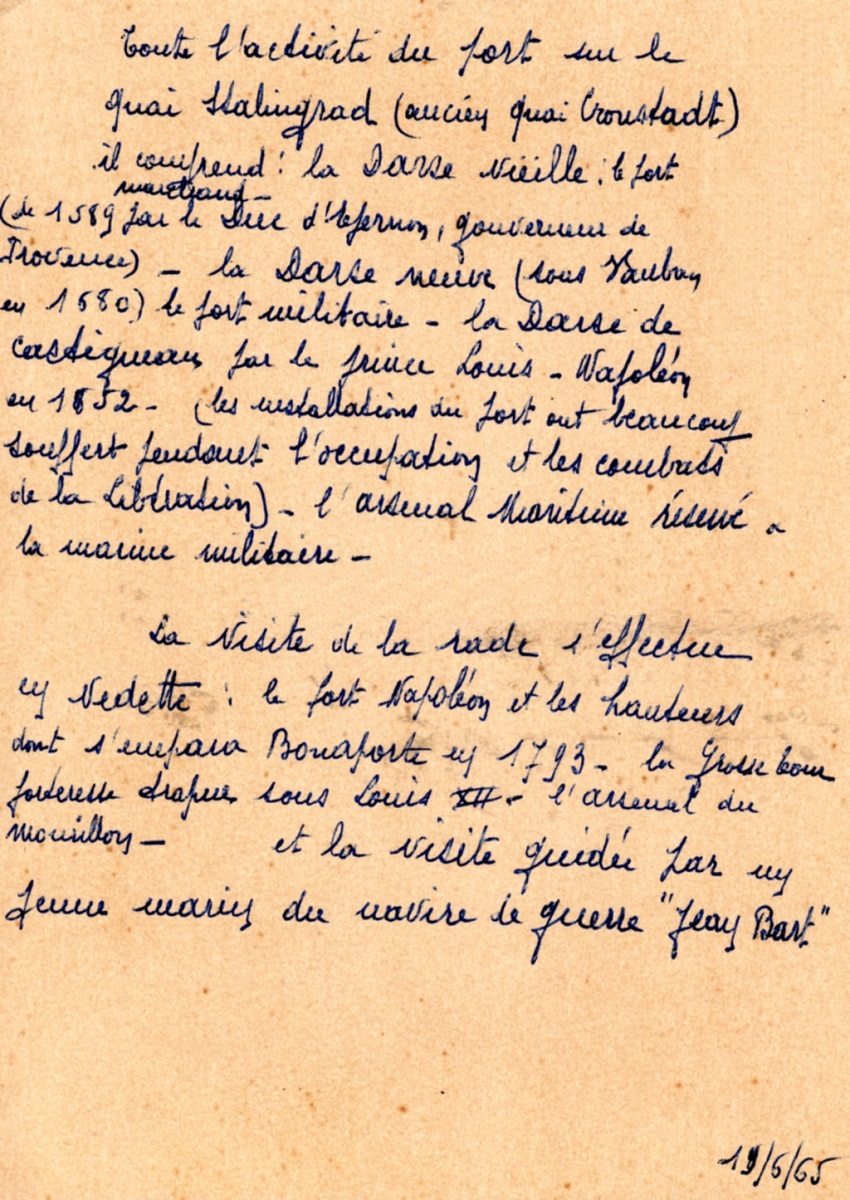 [Les Ports Militaires de Métropole]  De la création de l'arsenal de Toulon à aujourd'hui la base navale - Page 3 Momo208