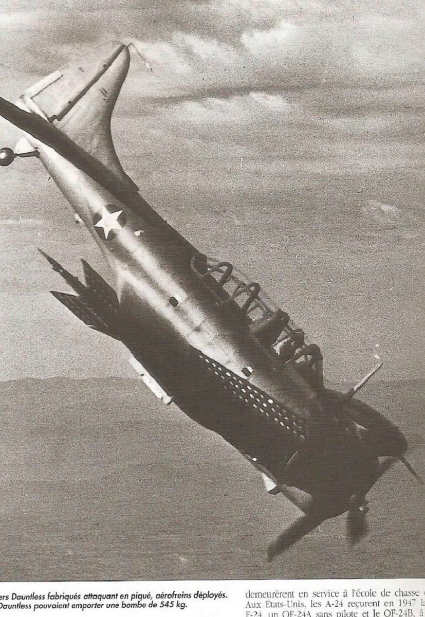 [Les anciens avions de l'aéro] Douglas SBD-5 Dauntless Momo277