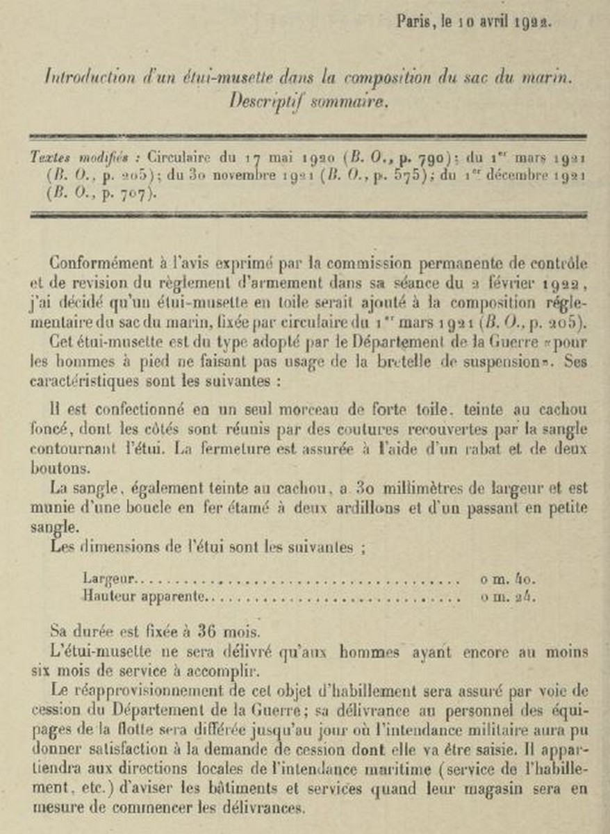 [LES TRADITIONS DANS LA MARINE] TENUE DANS LA MARINE- TOME 02 - Page 8 Momo33