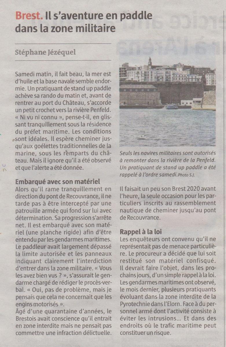 """[Divers Gendarmerie Maritime] Deux """"touristes"""" à L'île Longue - Page 2 Momo35"""