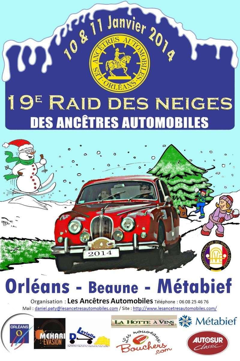 19é RAID des NEIGES 10 & 11 Janvier 2014 2014af10
