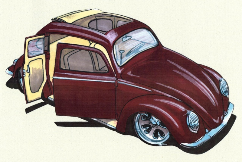 VW Fusca - Material Técnico & Afins Ft_12010