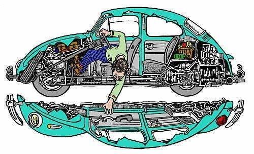 VW Fusca - Material Técnico & Afins Ft_7210
