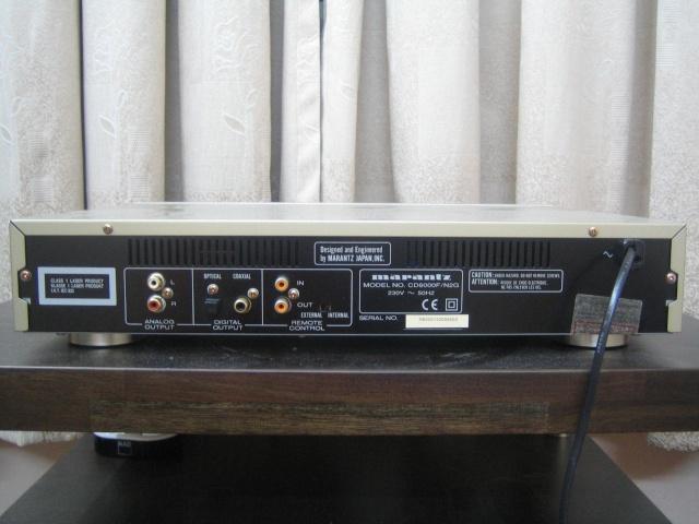 Marantz CD6000 OSE CD player (Used) (SOLD) Marant11