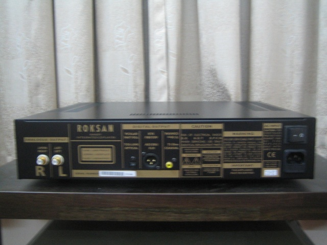 Roksan Kandy LIII CD player (Used) (SOLD) Roksan11