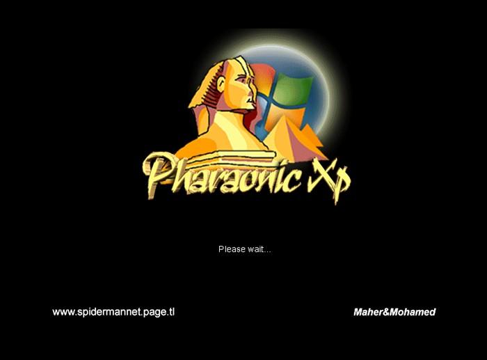 الويندوز الجديد و الجميل للغايه ويندوز الفراعنه Pharaonic XP Brandp10
