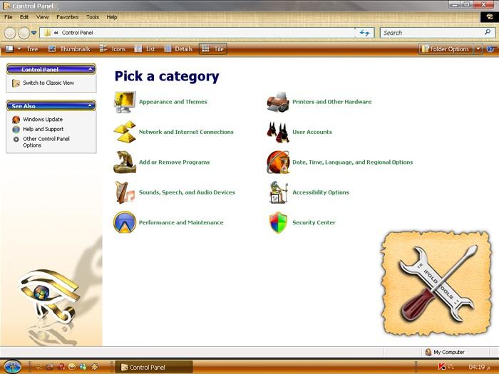 الويندوز الجديد و الجميل للغايه ويندوز الفراعنه Pharaonic XP Contro10