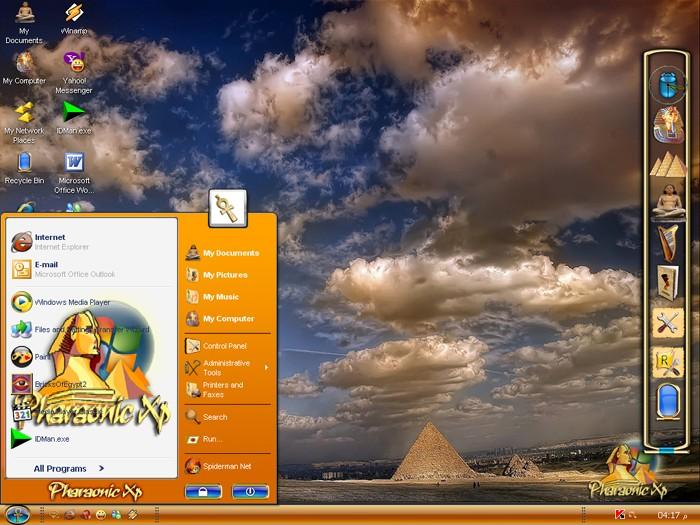 الويندوز الجديد و الجميل للغايه ويندوز الفراعنه Pharaonic XP Deskto10