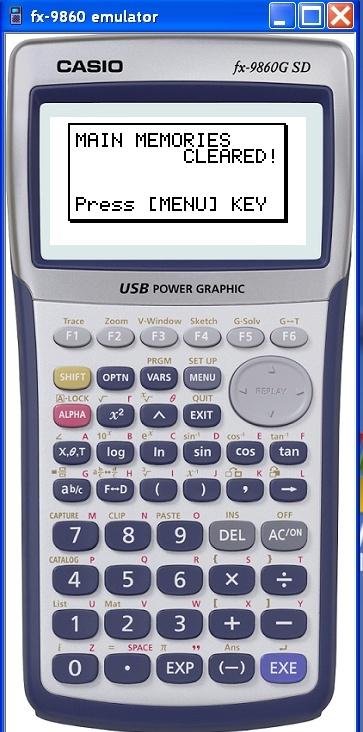 آلة حاسبة من كاسيو fx-9860 للحاسبات وفر 100 جنيه ثمن الألة الحاسبة Mainuf10
