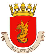 N.R.P D.Carlos I Brasao12