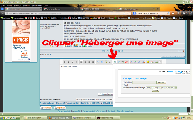 Tuto pour l'insertion d'image Image111