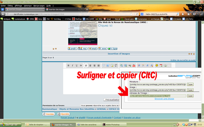 Tuto pour l'insertion d'image Image310
