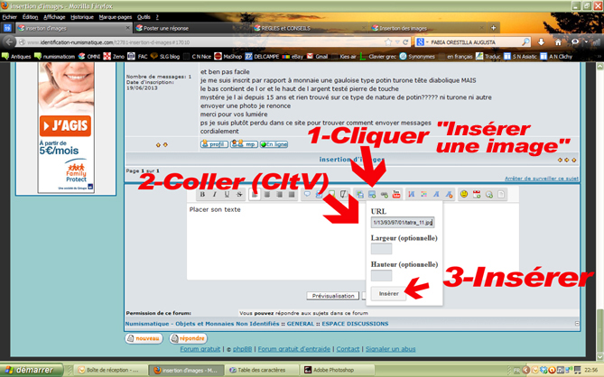 Tuto pour l'insertion d'image Image411