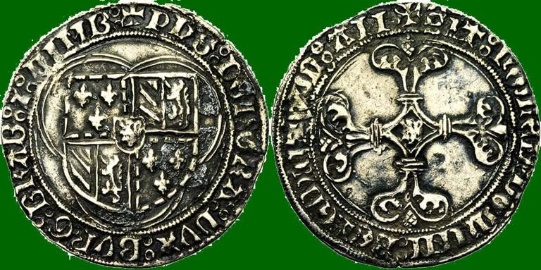 Double patard  Charles le téméraire  Philip10